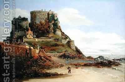 View of Jersey by Guillaume-Romain Fouace - Reproduction Oil Painting