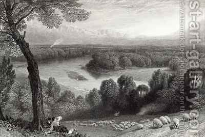 The Thames from Richmond Hill by (after) Foster, Myles Birket - Reproduction Oil Painting