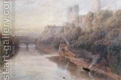 Durham Castle by Myles Birket Foster - Reproduction Oil Painting