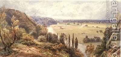 The Thames from Cliveden by Myles Birket Foster - Reproduction Oil Painting