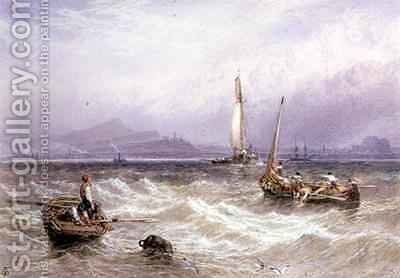 Seascape by Myles Birket Foster - Reproduction Oil Painting