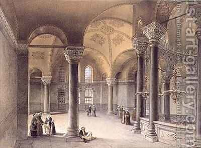 Haghia Sophia by (after) Fossati, Gaspard - Reproduction Oil Painting