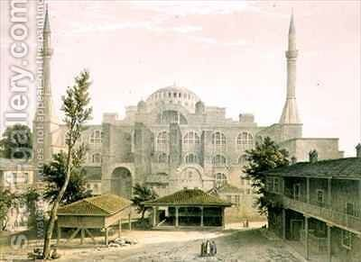 Haghia Sophia 2 by (after) Fossati, Gaspard - Reproduction Oil Painting