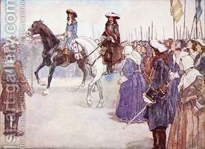 The Deliverer had come by A.S. Forrest - Reproduction Oil Painting