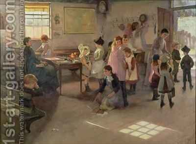 School is Out 2 by Elizabeth Stanhope Forbes - Reproduction Oil Painting
