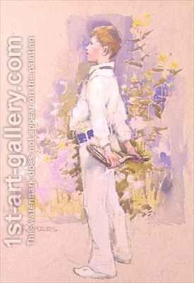 Alec in Whites by Elizabeth Stanhope Forbes - Reproduction Oil Painting
