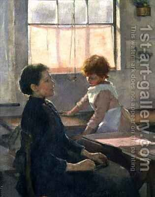 School is Out 3 by Elizabeth Stanhope Forbes - Reproduction Oil Painting