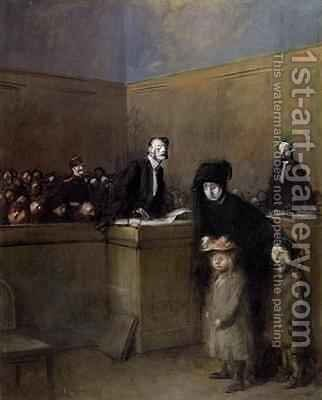 The Weak and the Oppressed by Jean-Louis Forain - Reproduction Oil Painting