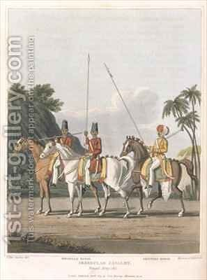 Irregular Cavalry Bengal Army by (after) Fitzclarence, George Augustus - Reproduction Oil Painting