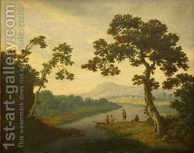 The Lakes of Killarney by (attr.to) Fisher, Jonathan - Reproduction Oil Painting
