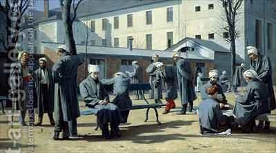 The Convalescents by Marie Francois Firmin-Girard - Reproduction Oil Painting