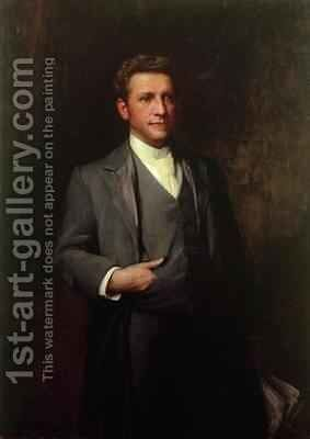 William Hesketh Lever 1851-1925 later First Viscount Leverhulme by Sir Samuel Luke Fildes - Reproduction Oil Painting