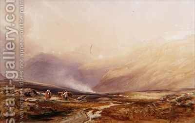 Snowdon by Anthony Vandyke Copley Fielding - Reproduction Oil Painting