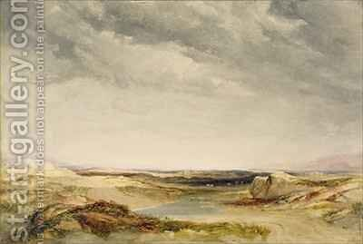 A Heath Near the Coast by Anthony Vandyke Copley Fielding - Reproduction Oil Painting