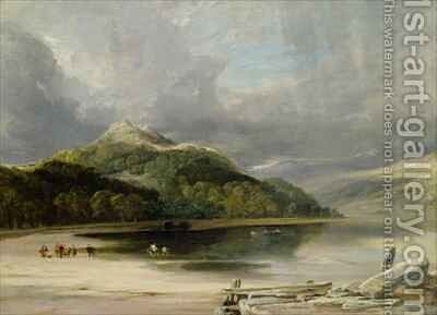Inverary by Anthony Vandyke Copley Fielding - Reproduction Oil Painting