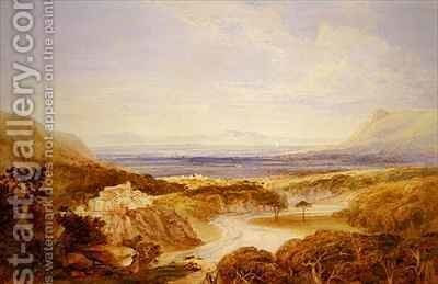 River View by Anthony Vandyke Copley Fielding - Reproduction Oil Painting
