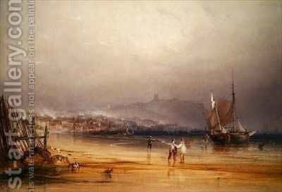 Scarborough by Anthony Vandyke Copley Fielding - Reproduction Oil Painting