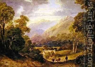 Ambelside by Anthony Vandyke Copley Fielding - Reproduction Oil Painting
