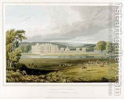 Longleat Wiltshire the Seat of the Marquis of Bath by (after) Fielding, A.V. Copley - Reproduction Oil Painting