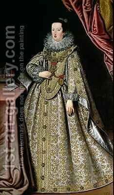 Eleanor Gonzaga 1598-1655 wife of Ferdinand II 1578-1637 Holy Roman Emperor by Lucrina Fetti - Reproduction Oil Painting