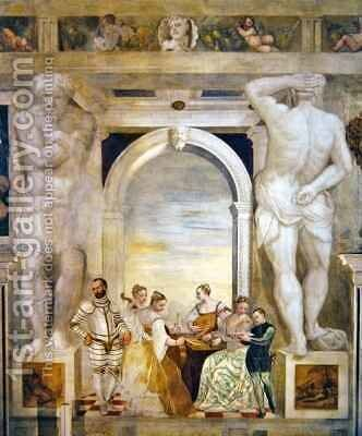The Concert by Giovanni Antonio Fasolo - Reproduction Oil Painting