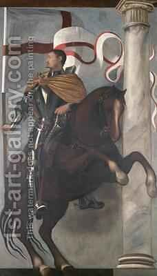St Fortunatus by Giovanni Antonio Fasolo - Reproduction Oil Painting