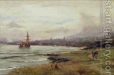Dundee from the East by David Farquharson - Reproduction Oil Painting