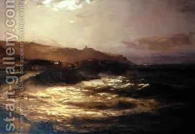 Full Moon and Spring Tide by David Farquharson - Reproduction Oil Painting