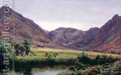 Haydays by David Farquharson - Reproduction Oil Painting