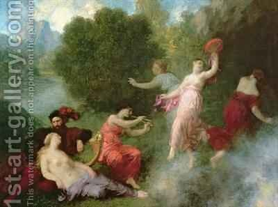 Tannhauser on the Venusberg by Theodore Fantin-Latour - Reproduction Oil Painting