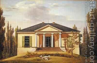 Country House by Joachim Faber - Reproduction Oil Painting