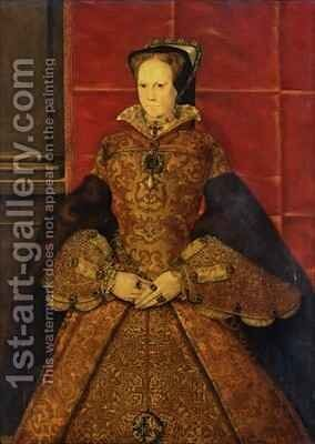 Queen Mary I by Hans Eworth - Reproduction Oil Painting