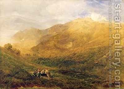 Arthog near Barmouth by Bernard Walter Evans - Reproduction Oil Painting