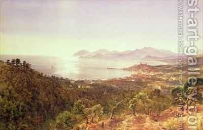 Cannes and the Esterels by Bernard Walter Evans - Reproduction Oil Painting