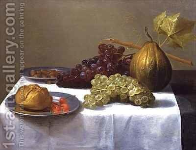 Still Life with Fruits by Jacob Fopsen van Es - Reproduction Oil Painting