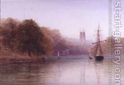 On the Dart by Arthur Henry Enock - Reproduction Oil Painting