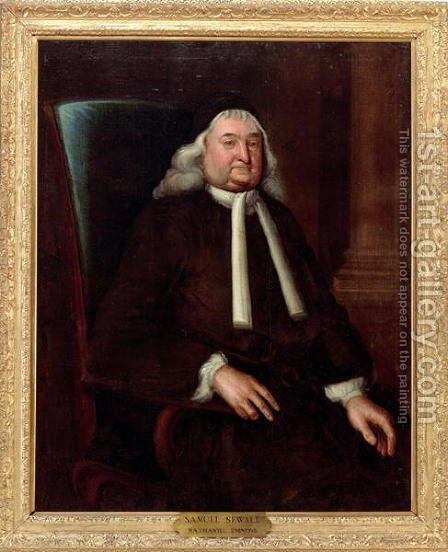 Samuel Sewall by Nathaniel Emmons - Reproduction Oil Painting