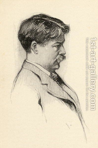 Edward Macdowell 1861-1908 by Chase Emerson - Reproduction Oil Painting