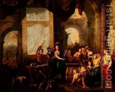 The Departure of Aeneas by Ottmar, the Younger Elliger - Reproduction Oil Painting