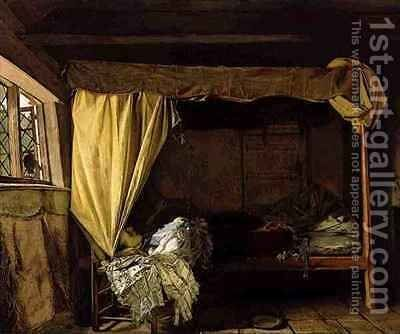 The Death of Buckingham by Augustus Leopold Egg - Reproduction Oil Painting