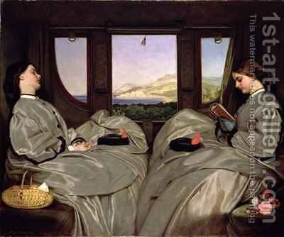 The Travelling Companions by Augustus Leopold Egg - Reproduction Oil Painting