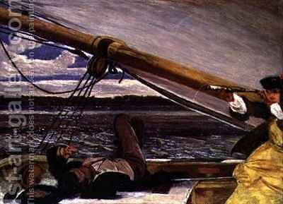 Outward Bound by Augustus Leopold Egg - Reproduction Oil Painting