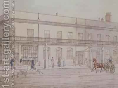 Assembly Rooms and Williams Library Cheltenham by Daniel Thomas Egerton - Reproduction Oil Painting