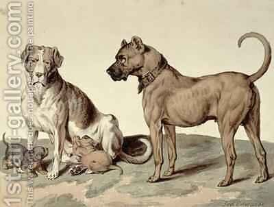 The Mastiff by Sydenham Teast Edwards - Reproduction Oil Painting