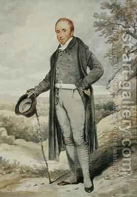 William Wells 1768-1847 by Henry Edridge - Reproduction Oil Painting
