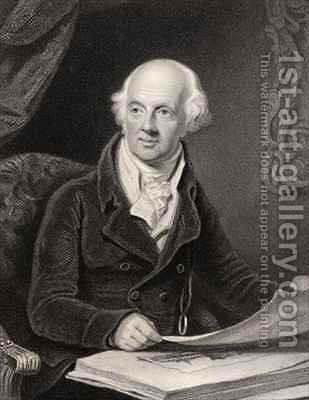 Sir Abraham Hume 2nd Baronet by Henry Edridge - Reproduction Oil Painting
