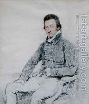 William Wells 1768-1847 2 by Henry Edridge - Reproduction Oil Painting