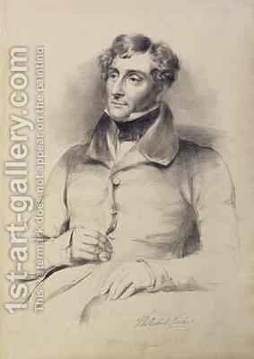 Thomas Henry Shadwell Clerke 1792-1849 by Eden Upton Eddis - Reproduction Oil Painting