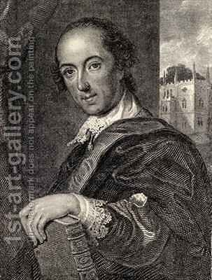 Horace Walpole by (after) Eccardt, John Giles - Reproduction Oil Painting