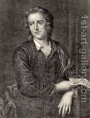 Thomas Gray by (after) Eccardt, John Giles - Reproduction Oil Painting